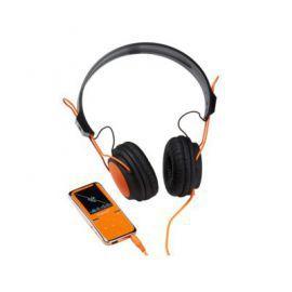 Intenso Odtwarzacz MP4 8GB VIDEO SCOOTER LCD 1.8'' + Słuchawki Pomarańczowy