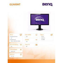 Benq 24'' GL2450HT LED 2ms/12MLN:1/DVI/CZARNY