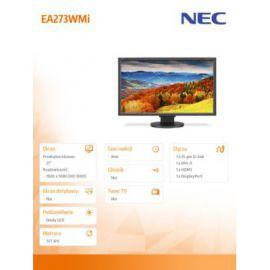 NEC 27' LCD EA273WMi bk IPS W-LED, 6ms, 1920x1080, HDMI, DVI-D. D-SU